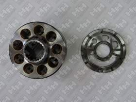 Блок поршней c распределительной плитой для гусеничный экскаватор KOMATSU PC200-8 (708-2L-06470, 708-2L-06480)
